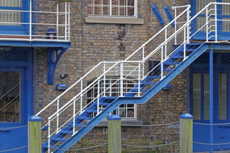 Treppenhaus extern stockbild