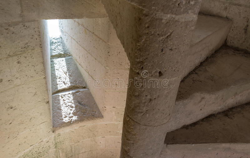 Treppenhaus- und Lichtreflexion lizenzfreie stockbilder