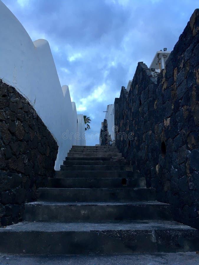 Treppenhaus zum Himmel stockfotografie