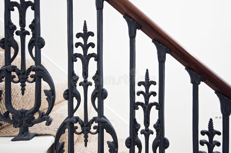 Treppenhausdetail stockfoto