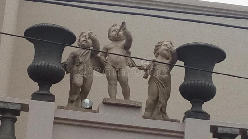 Tres ángeles fotos de archivo libres de regalías