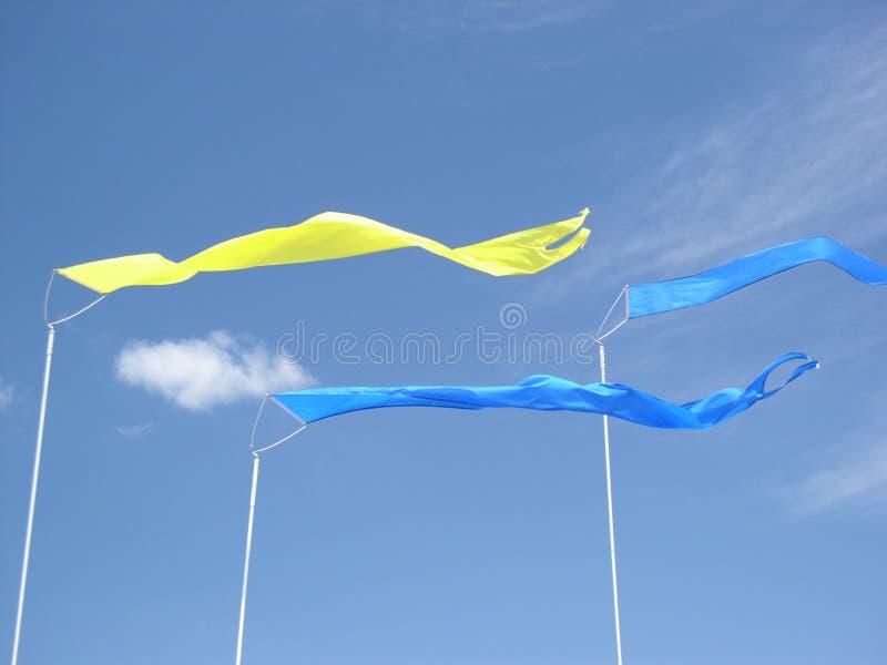 Tres Banderas Foto de archivo