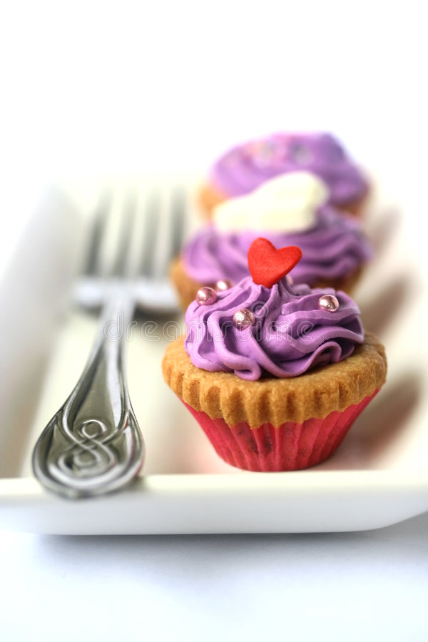 Tres bellezas púrpuras imagen de archivo libre de regalías