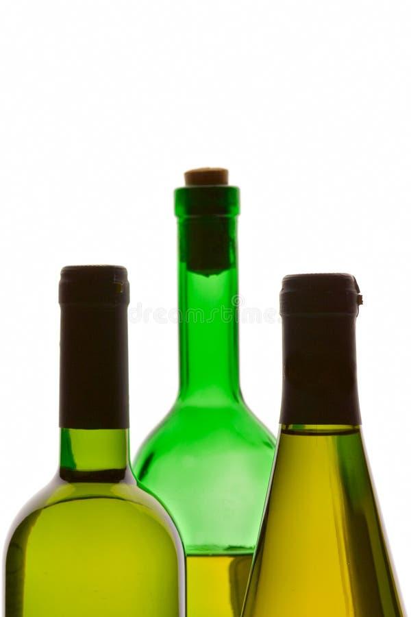 Download Tres botellas de vino imagen de archivo. Imagen de forma - 1288353