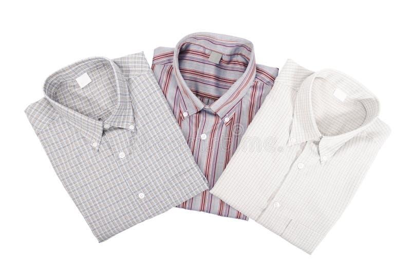 Tres camisas imagen de archivo