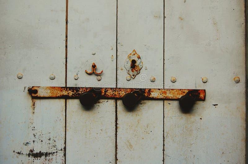 Tres cerraduras fotografía de archivo libre de regalías