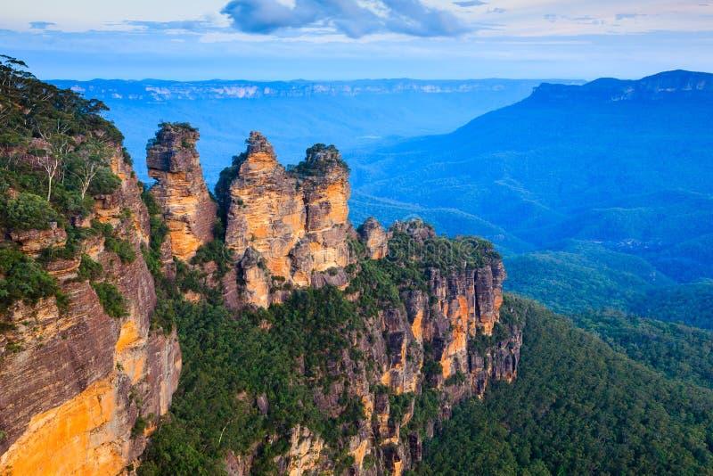 Tres hermanas Australia fotografía de archivo libre de regalías