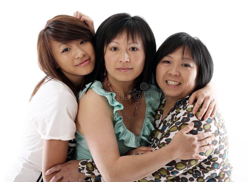 Tres hermanas que se divierten fotografía de archivo