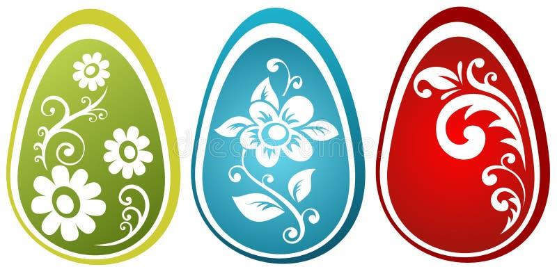 Tres huevos de Pascua libre illustration