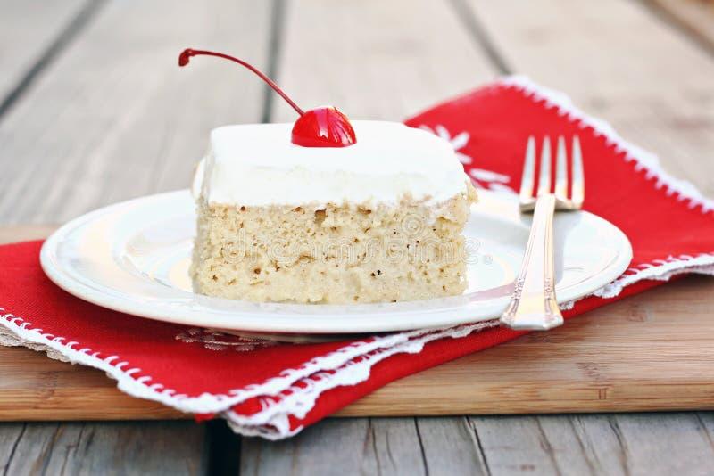 tres leches торта стоковые фото