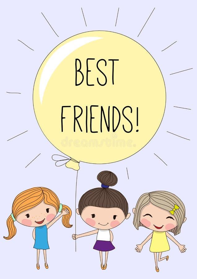 Tres muchachas lindas libre illustration