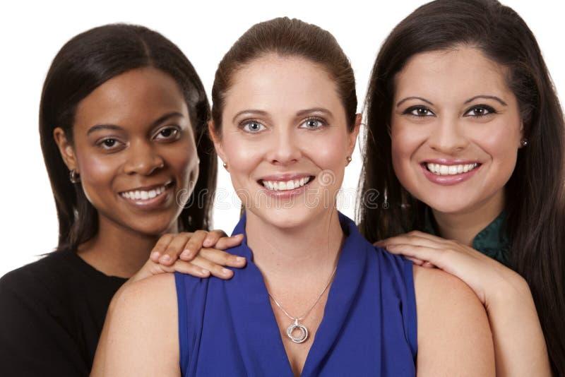 Tres mujeres de negocios fotos de archivo