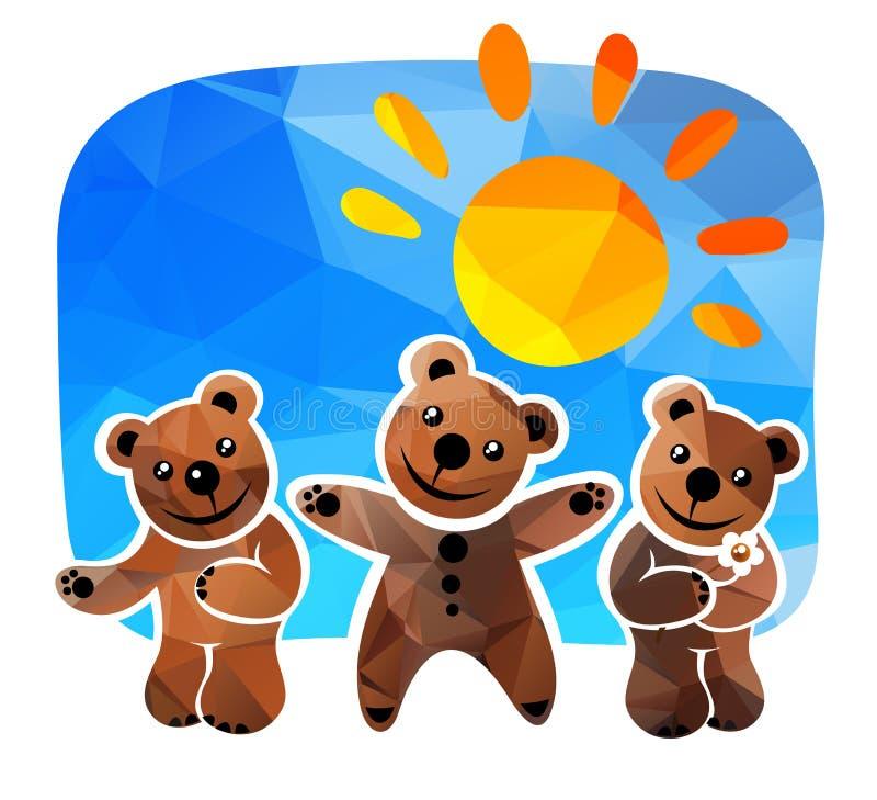 Tres osos libre illustration