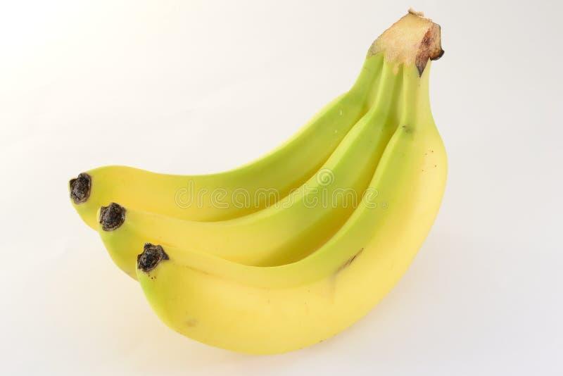 Tres plátanos foto de archivo libre de regalías