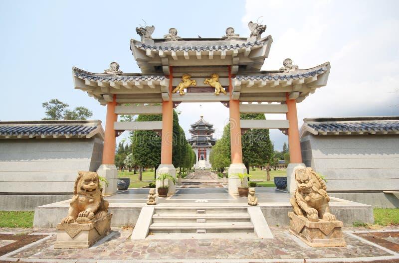 Tres reinos parque, Pattaya Tailandia foto de archivo libre de regalías