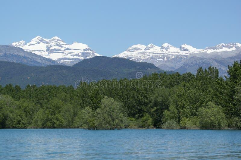 Tres Sorores de La de Monte Perdido y photo libre de droits