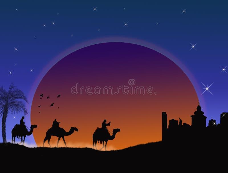 Tres wisemen libre illustration