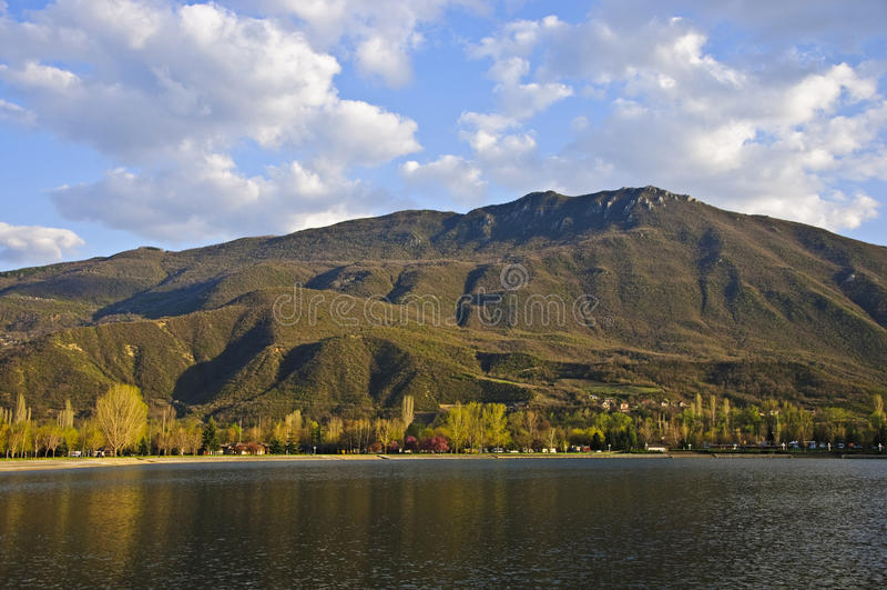 treska λιμνών skopje πλησίον στοκ εικόνες
