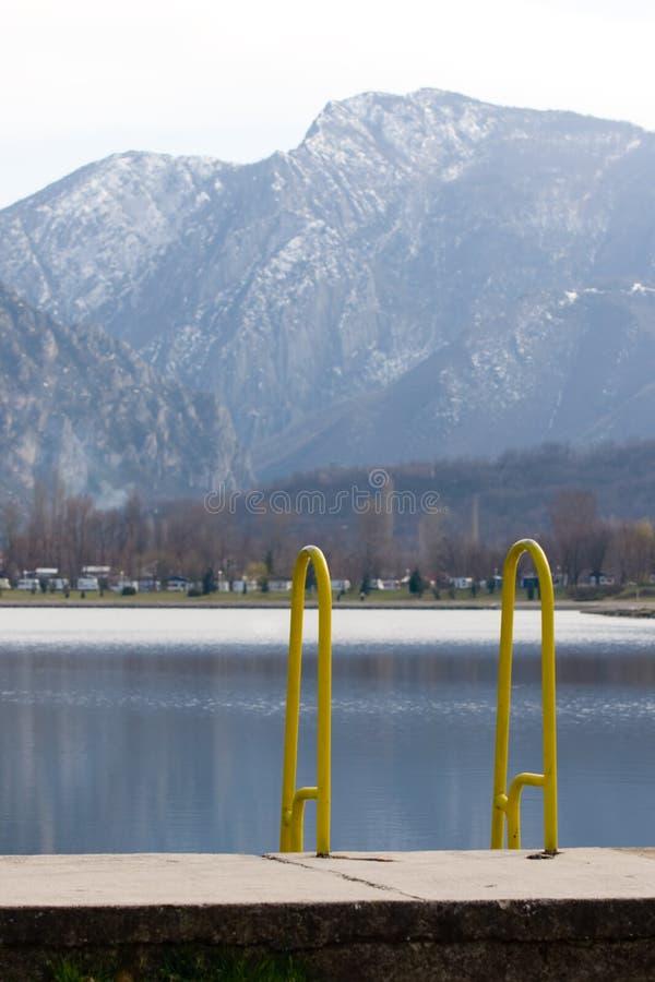 treska της Μακεδονίας λιμνών skopje π στοκ εικόνα