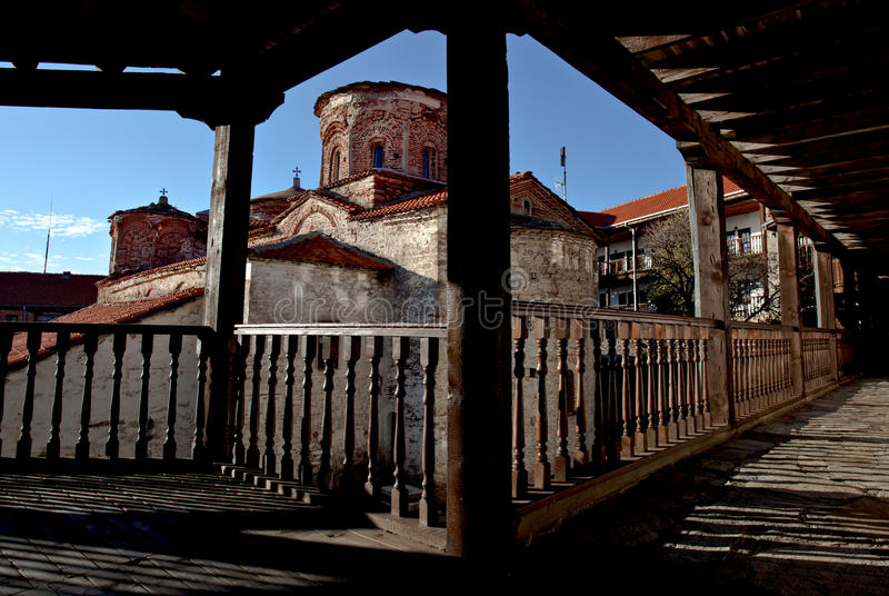 Treskavec Monasteries, Prilep,Macedonia royalty free stock photography