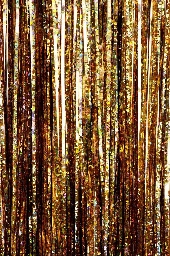 Tresse d'or photos libres de droits