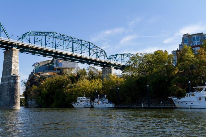 Trestle river bridge royalty free stock photo