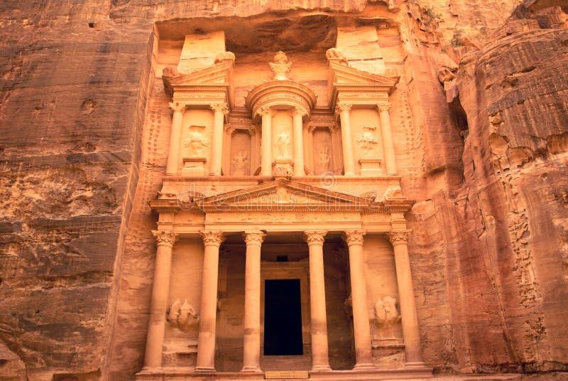Tresure del Petra foto de archivo libre de regalías