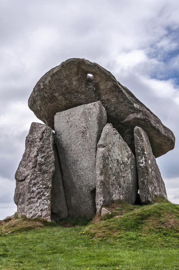 Trethevy Quoit royalty free stock image