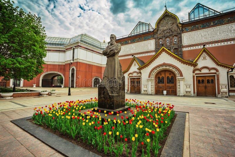 Tretjakow-Galerie ist das Kunstmuseum, das Sammlung russische Kunst hat lizenzfreie stockbilder