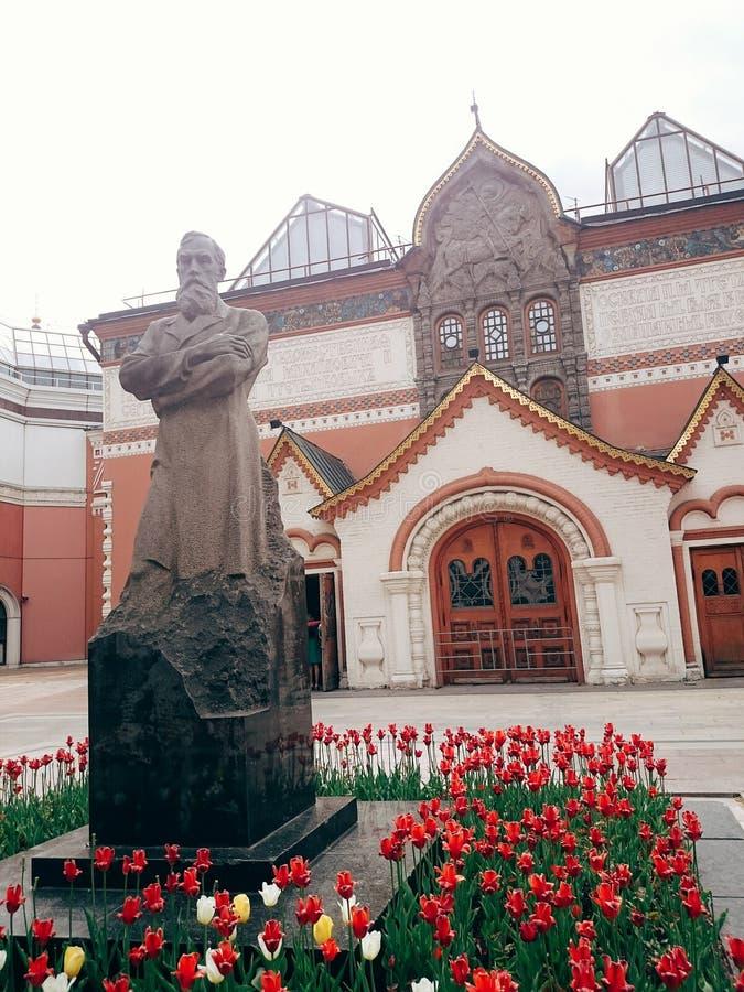 Tretyakov galleri royaltyfri fotografi