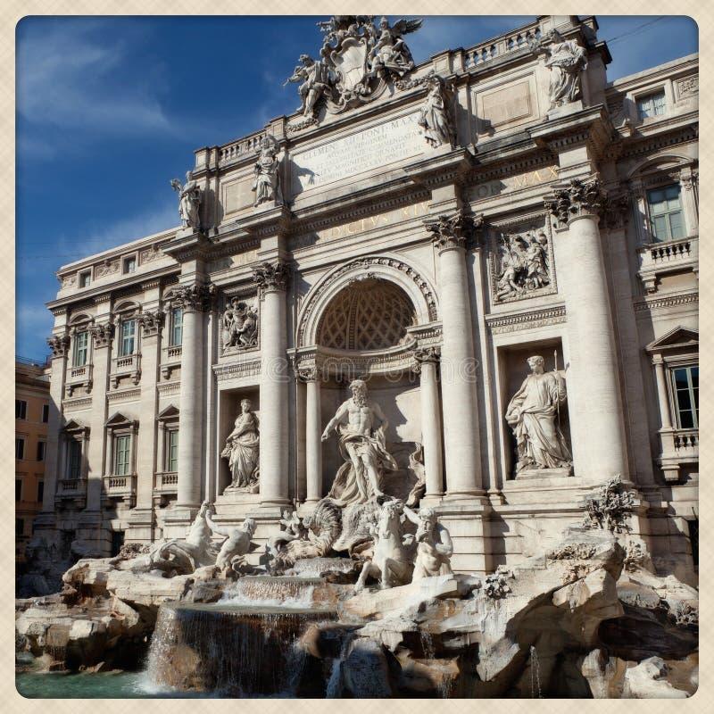 Trevi的喷泉 免版税库存图片