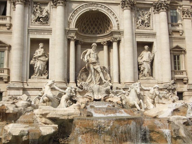 TREVI της Ρώμης πηγών στοκ φωτογραφίες