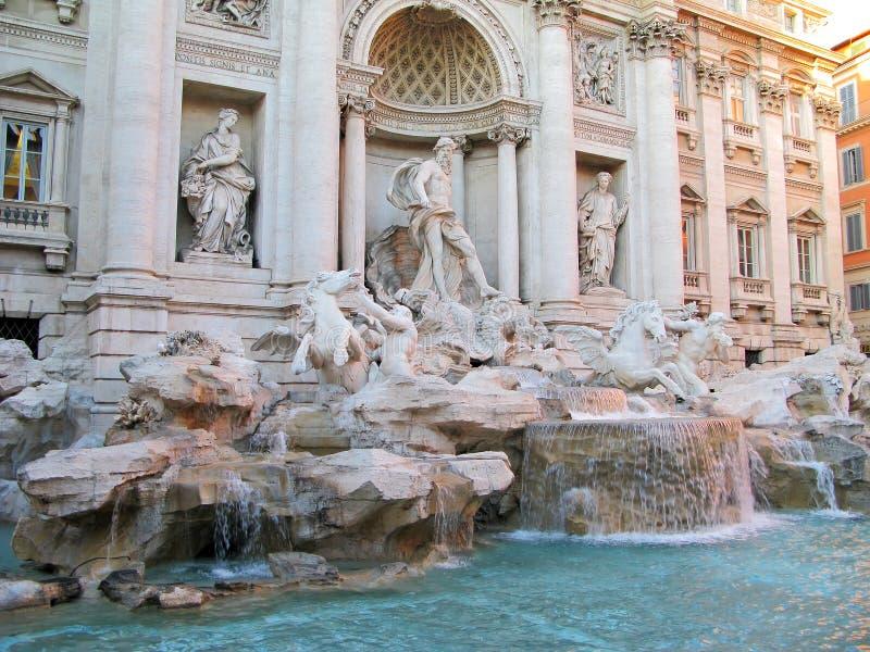 trevi фонтана стоковое изображение
