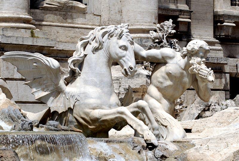 trevi фонтана стоковые фотографии rf