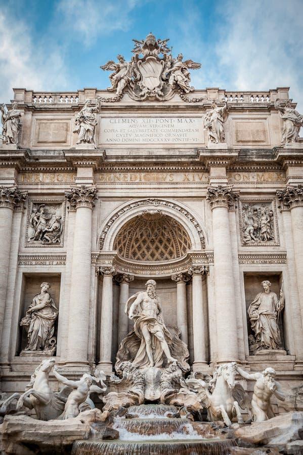 Trevi fontanna obrazy royalty free