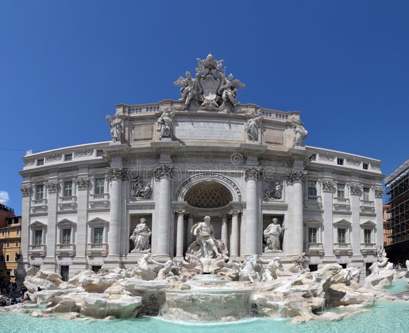 Trevi Fontanna (Włoszczyzna: Fontana Di Trevi) zdjęcie royalty free