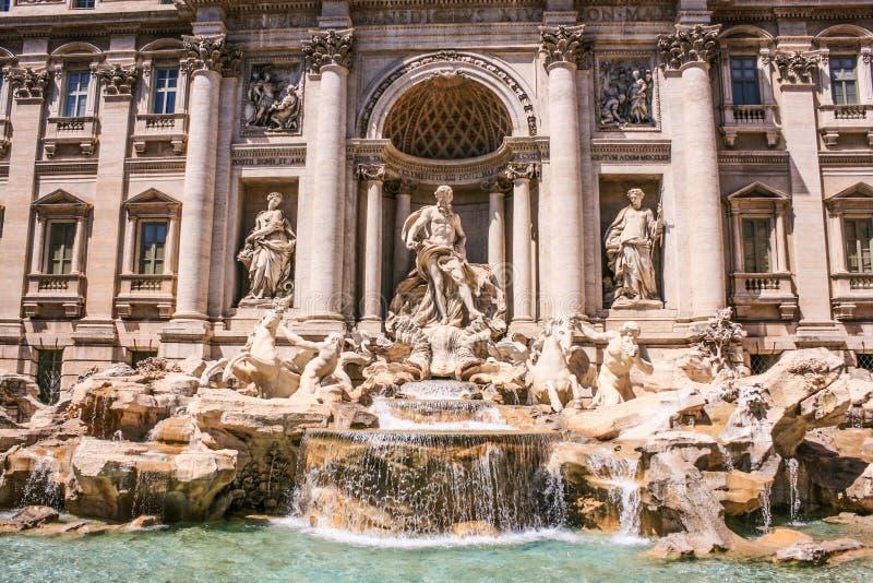 Trevi fontanny włoszczyzna: Fontana Di Trevi, Rzym, Włochy, Europa fotografia stock