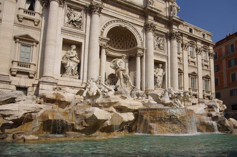 Trevi fontein royalty-vrije stock foto's