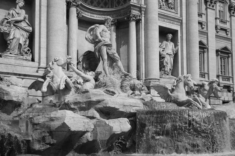 Trevi fontein stock fotografie