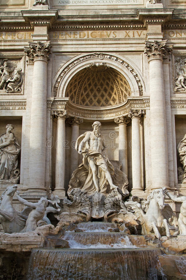 Download Trevi Fountain stock photo. Image of romanesque, history - 37877650