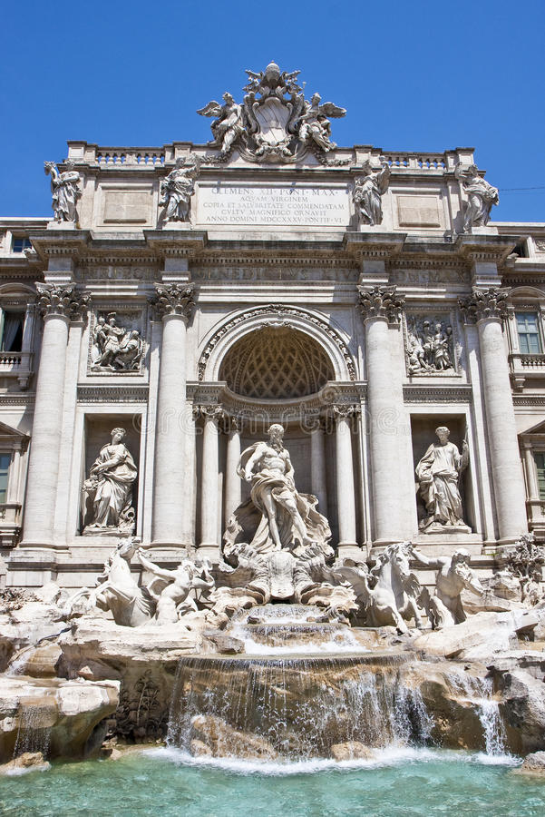 Download Trevi Fountain Close stock photo. Image of coins, water - 10604998