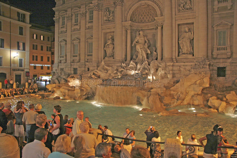 Download Trevi Fountain , Rome, Italy Editorial Image - Image: 33820090