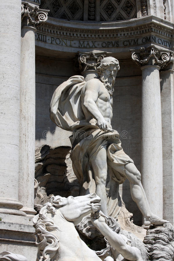 Download Trevi Fountain In Rome Royalty Free Stock Photography - Image: 14267797