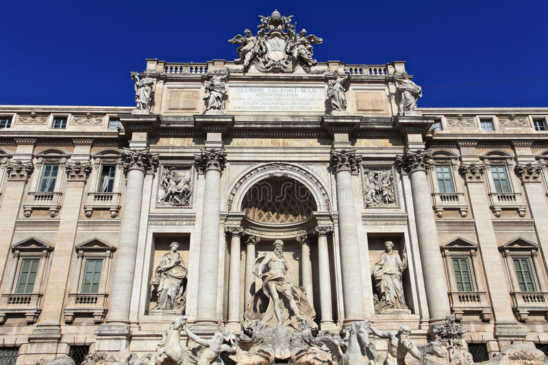 Download Trevi Fountain.Rome stock image. Image of destination - 21921513