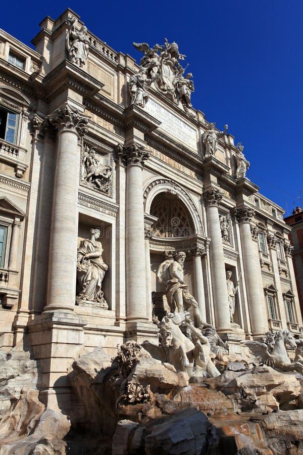 Trevi Fountain.Rome stock image