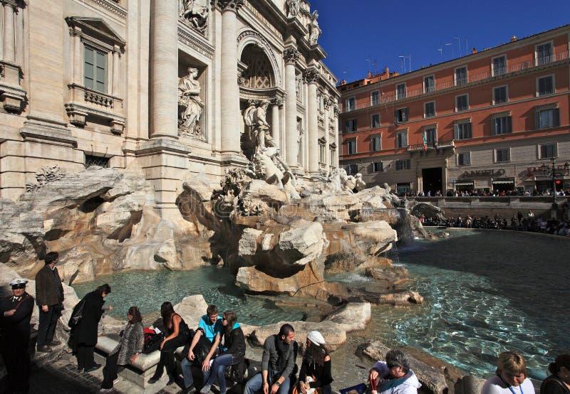 Trevi Fountain.Rome stock photos