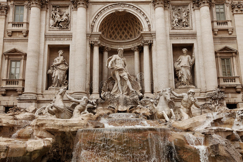 Download Trevi Fountain Rome stock photo. Image of iconic, fountain - 31790978