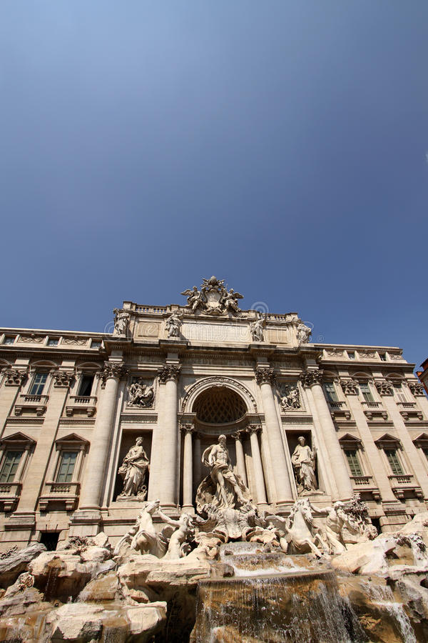 Download Trevi Fountain In Rome, Italy Stock Image - Image: 15518631