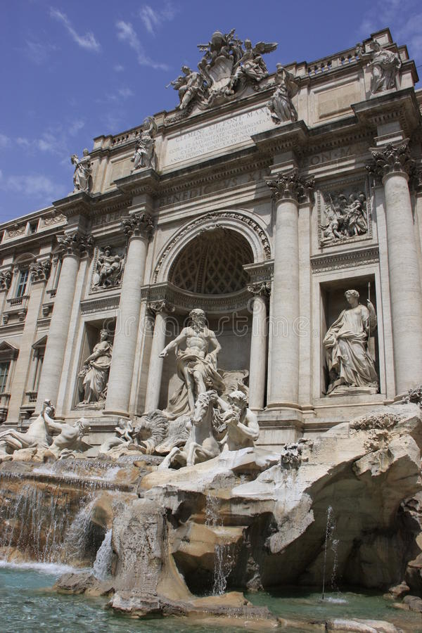 Download Trevi Fountain, Rome, Italy Stock Photo - Image: 25846496