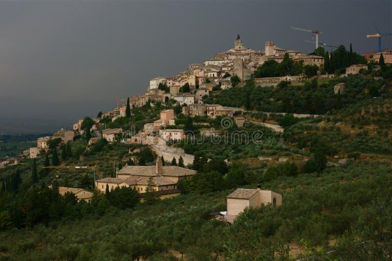 trevi Umbria obraz stock